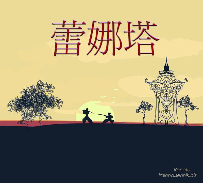 Renata po chińsku