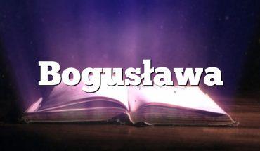 Bogusława