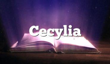 Cecylia